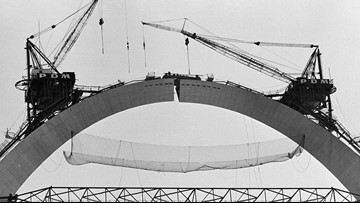 Oct. 28, 1965: Photos and video from the day the Arch was finished