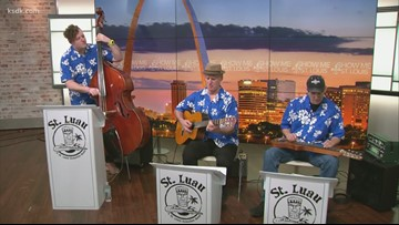 St. Luau performs on Show Me St. Louis