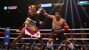Manny Pacquiao outclasses Broner, reheats Floyd Mayweather Jr. rematch talk