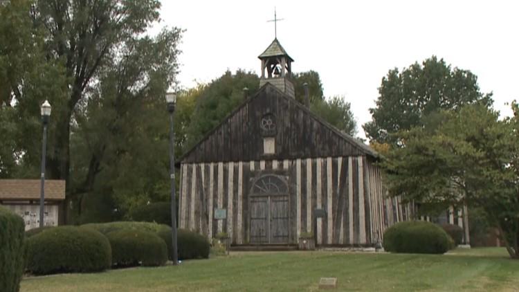 earthquake log church cahokia illinois