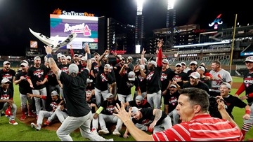 Historic 10-run first inning sends Cardinals to Game 5 rout of Braves, on to NLCS