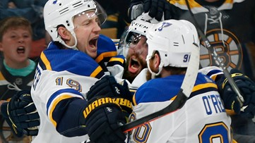 Blues one win from Cup after 2-1 win over Bruins in Game 5