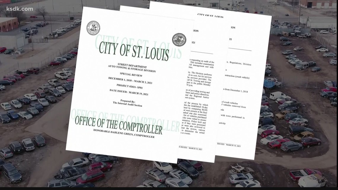 St. Louis city tow lot employee files whistleblower lawsuit