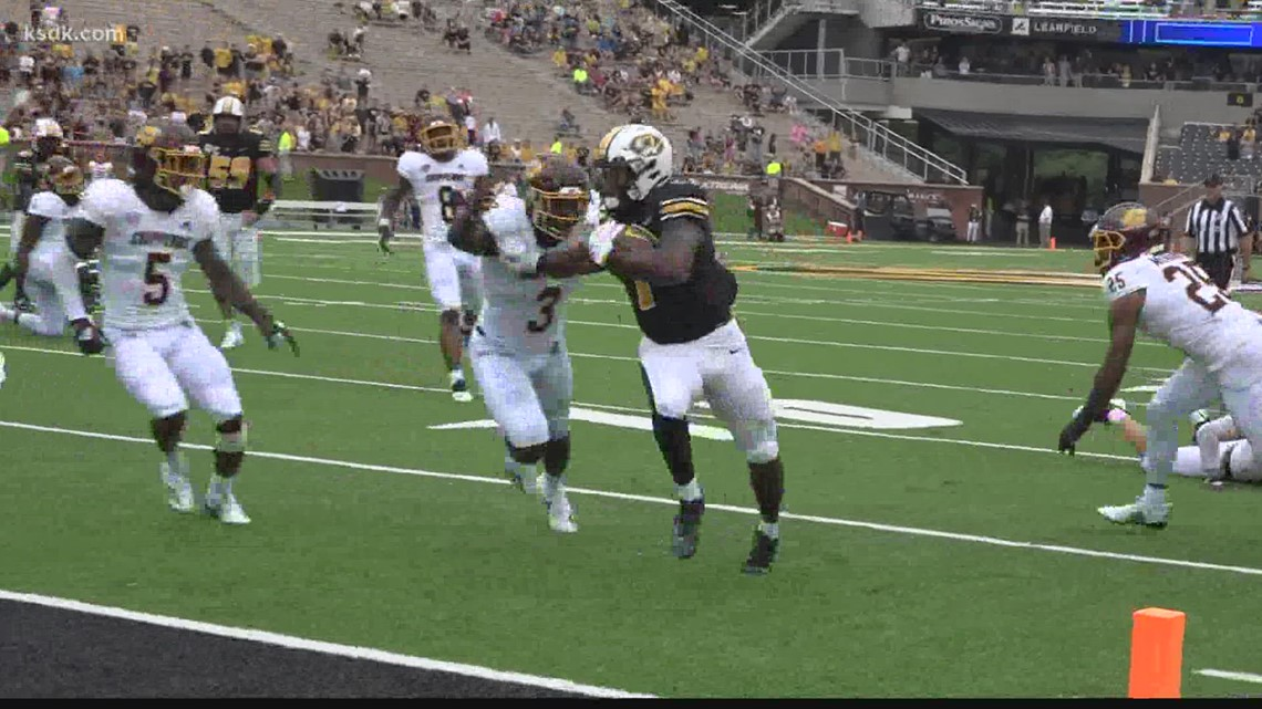 Mizzou escapes Week 1 with win over Central Michigan