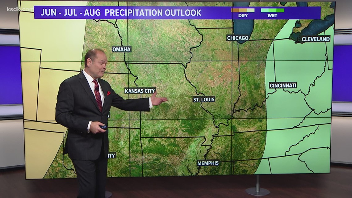 Spring into Summer: St. Louis area summer outlook