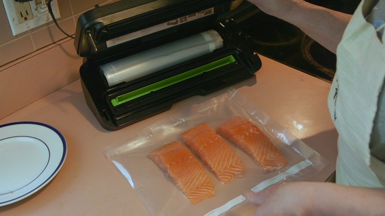 Vacuum sealers extend freshness, save you money when you're freezing food
