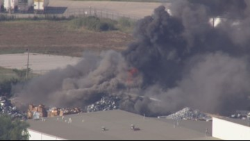 Fire at metal recycling plant in Granite City burned for more than 10 hours