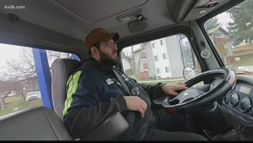 Icy winter conditions keep tow truck drivers busy
