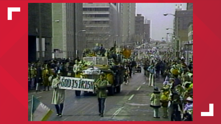 Vintage KSDK: A look at St. Patrick's Day parades in days gone by