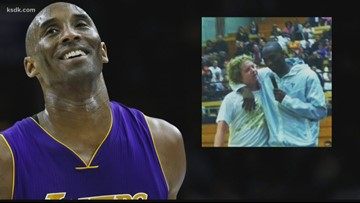 One St. Louisan's personal connection to the late Kobe Bryant