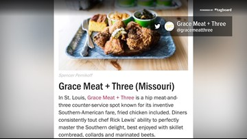 The Food Network said this restaurant has the best fried chicken in Missouri