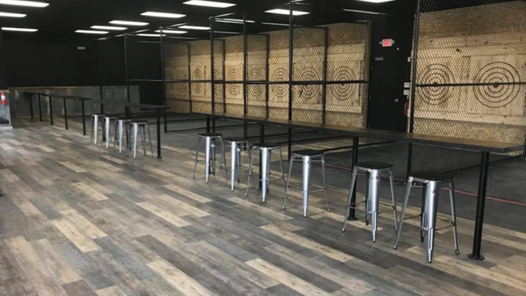 Top Notch Axe Throwing moves into St. Charles spot
