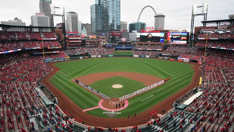 You can watch a movie from the outfield grass of Busch Stadium at the 1st ever Movie Night