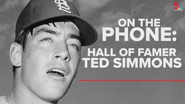 Ted Simmons talks about election to National Baseball Hall of Fame