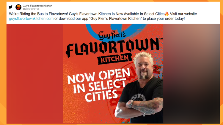Guy Fieri's Flavortown Kitchen comes to St. Louis