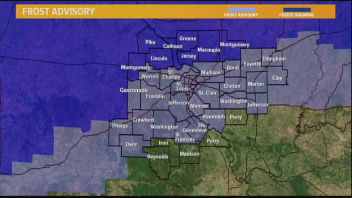 Ksdk Weather Map.Tuesday Weather Forecast 4am Ksdk Com