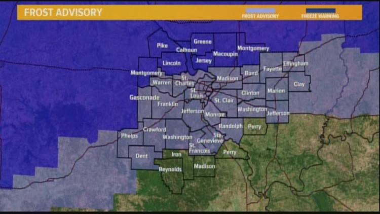 Tuesday Weather Map.Tuesday Weather Forecast 4am Ksdk Com
