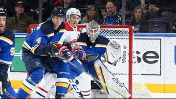 Blues within striking distance of playoffs as goalie situation gets murkier