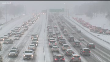 Highway patrol helped 765 stranded drivers in the St. Louis area this weekend