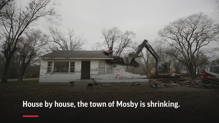 Flood buyouts upend Missouri town