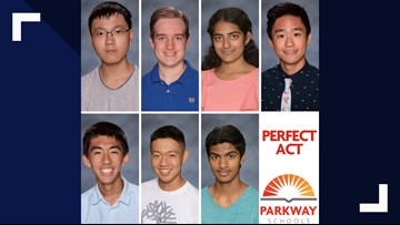 7 Parkway students scored a 36 on the ACT exam