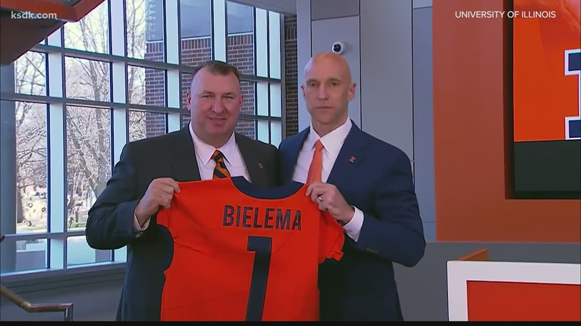 New Illinois head coach Bret Bielema talks about taking over at Illinois