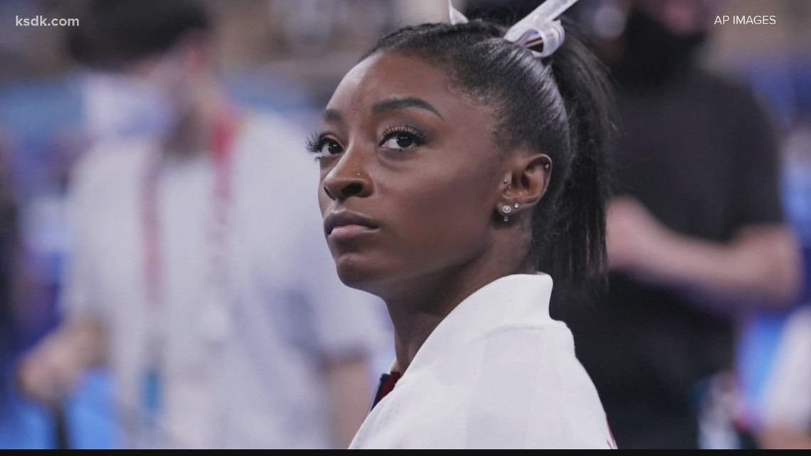 Simone Biles withdraws from all-around competition