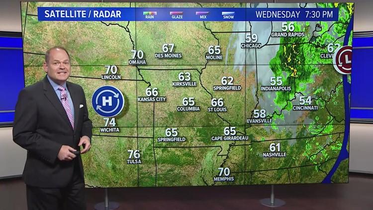 Scott's Wednesday night forecast
