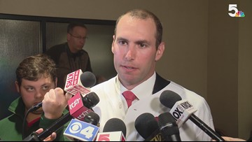 RAW INTERVIEW: Paul Goldschmidt's first comments after trade to Cardinals