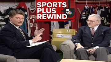 Mike Bush looks back on a Sports Plus interview with John Wooden
