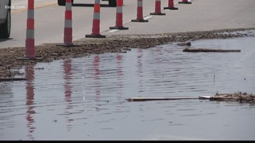MoDOT closes NB lanes of 141 in Maryland Heights due to flooding