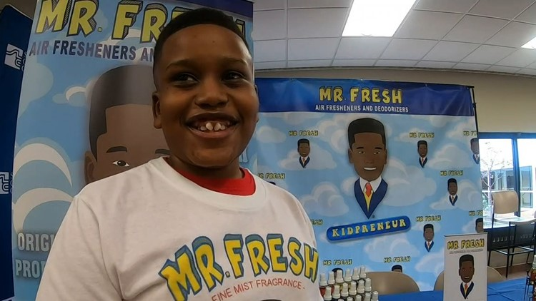 12-year-old entrepreneur gets air fresheners on Schnucks store shelves