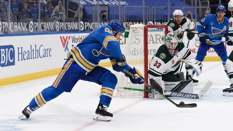 O'Reilly's goal with 2 seconds left in OT propels Blues over Wild 3-2