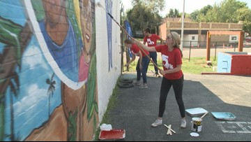 Project 5 volunteers revamp Wesley House in north St. Louis
