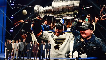 Blues win ESPY for Best Comeback, shout out Laila in acceptance speech