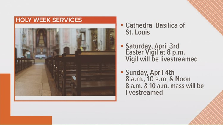St. Louis churches offer in-person and livestreamed Easter services