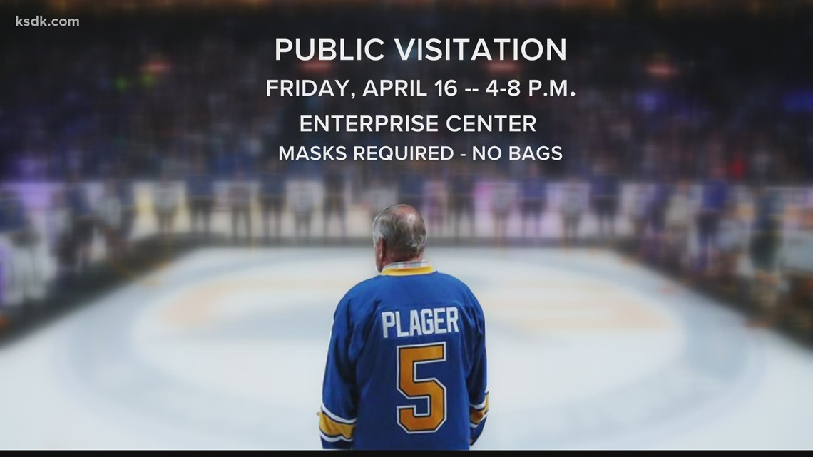 Blues release visitation, funeral plans for Bobby Plager