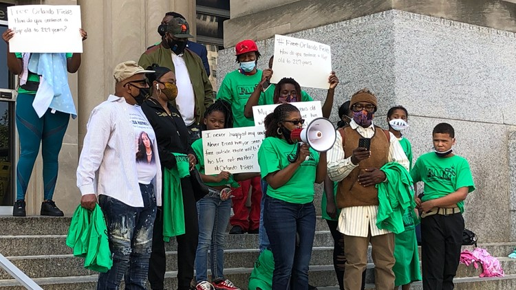 Rally in downtown St. Louis for Breonna Taylor, prison reform movement