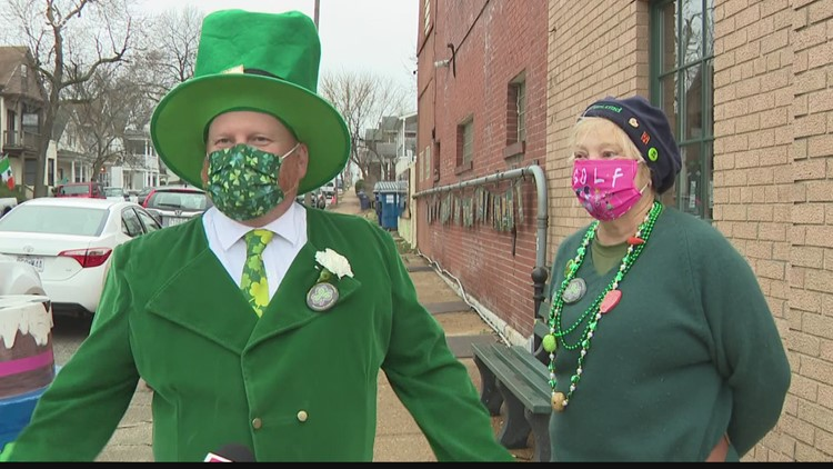 The pandemic and rain couldn't stop all the St. Patrick's Day festivities