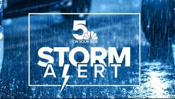 STORM ALERT | Heavy rainfall overnight Wednesday