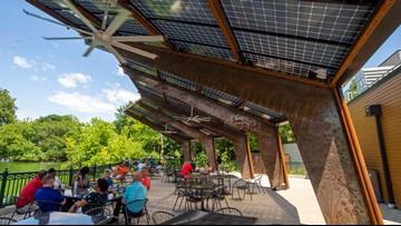 Saint Louis Zoo adds solar-powered canopy