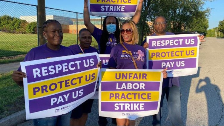 Nursing home workers continue fight for a fair wage