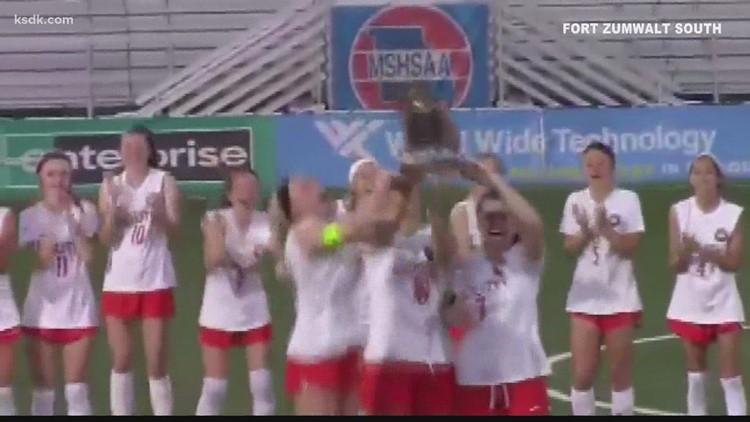 Fort Zumwalt South girls seize first championship in program history
