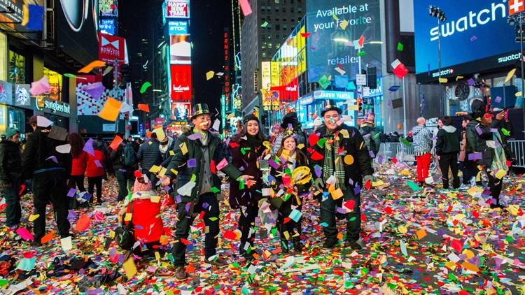How a piece of Times Square confetti brought together St. Louis couple and a stranger