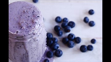 Recipe of the Day: Blueberry Muffin Batter Smoothie
