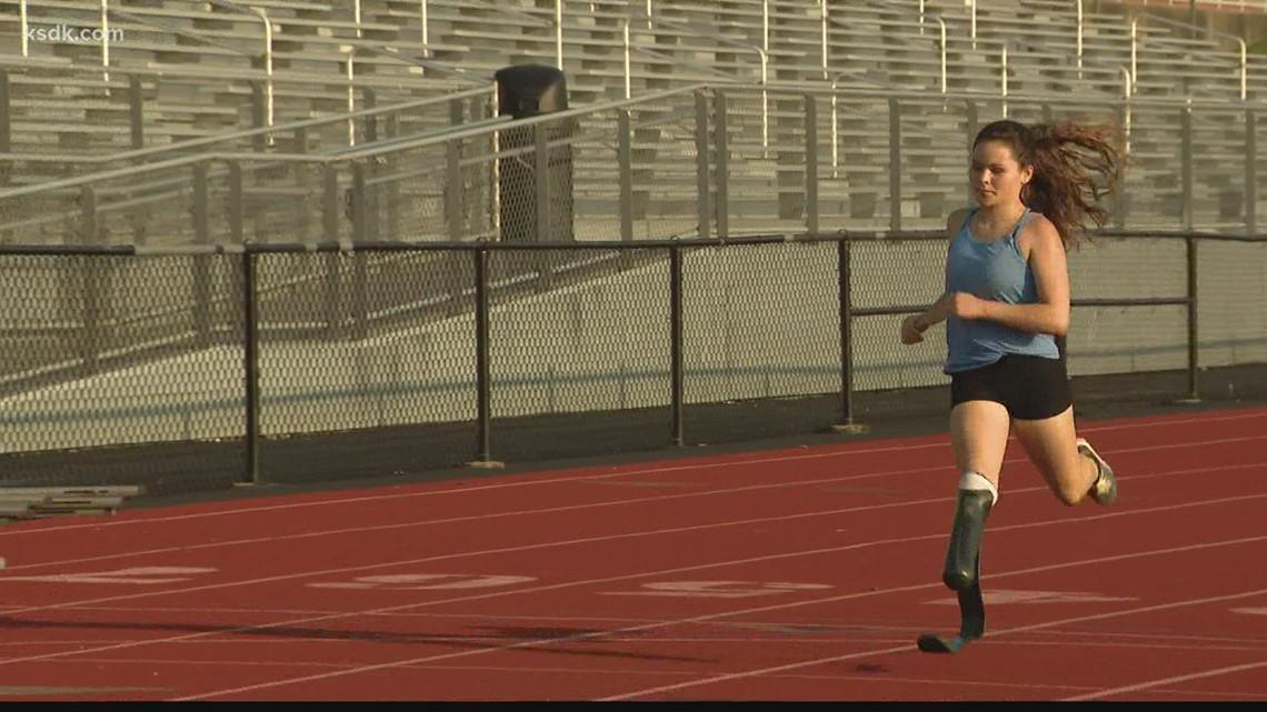 St. Louis area athlete has Paralympic dreams