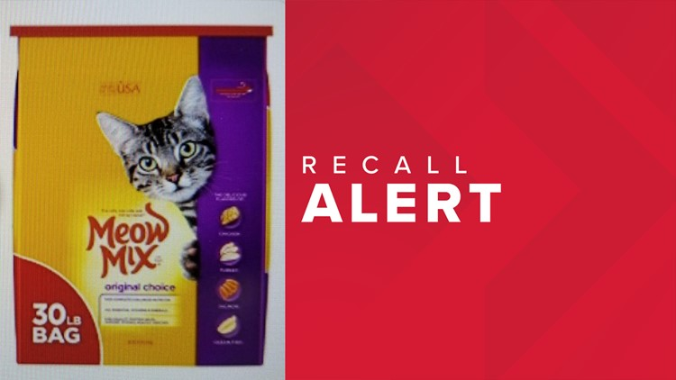 Missouri, Illinois among states in FDA recall of Meow Mix cat food