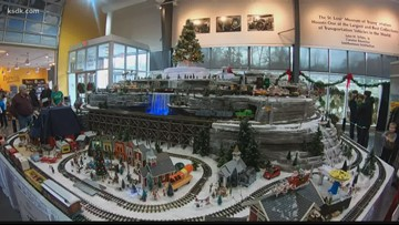 Where you can see the train display