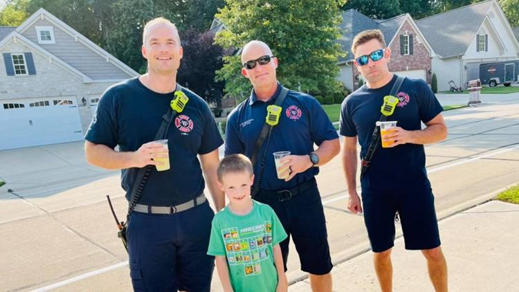 St. Charles County boy sells lemonade to raise money for family of fallen Marine