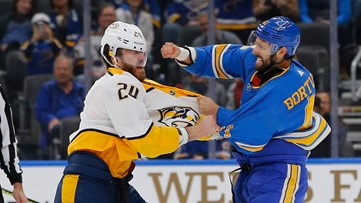 Blues mixing up lines to try and spark offense amidst dismal stretch